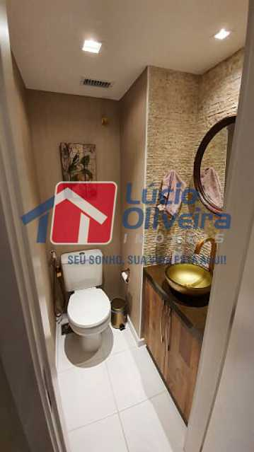 06- Lavabo - Apartamento à venda Estrada do Guanumbi,Freguesia (Jacarepaguá), Rio de Janeiro - R$ 550.000 - VPAP21495 - 7