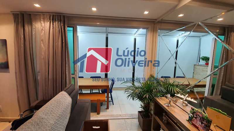 07- Sala e Varanda - Apartamento à venda Estrada do Guanumbi,Freguesia (Jacarepaguá), Rio de Janeiro - R$ 550.000 - VPAP21495 - 8