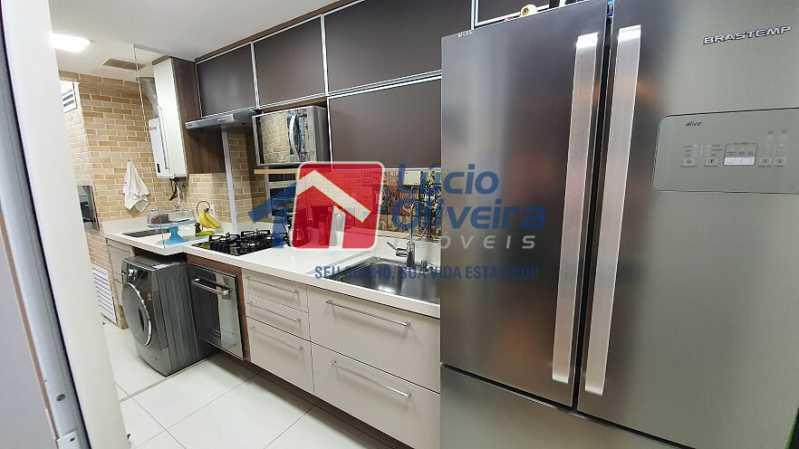 08- Cozinha - Apartamento à venda Estrada do Guanumbi,Freguesia (Jacarepaguá), Rio de Janeiro - R$ 550.000 - VPAP21495 - 9