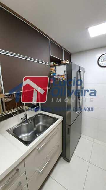 09- Cozinha - Apartamento à venda Estrada do Guanumbi,Freguesia (Jacarepaguá), Rio de Janeiro - R$ 550.000 - VPAP21495 - 10