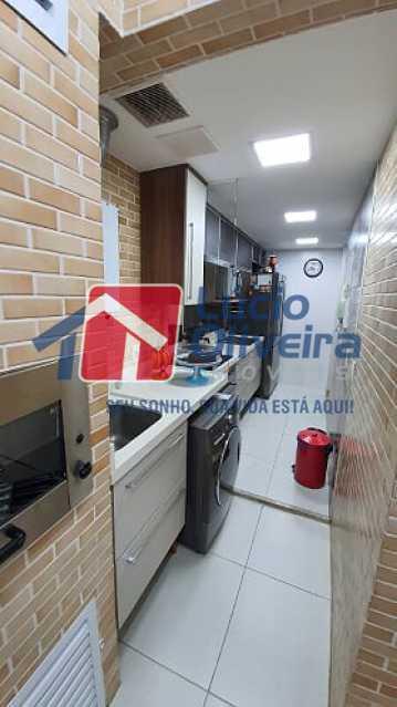 12- Espaço Gourmet - Apartamento à venda Estrada do Guanumbi,Freguesia (Jacarepaguá), Rio de Janeiro - R$ 550.000 - VPAP21495 - 13