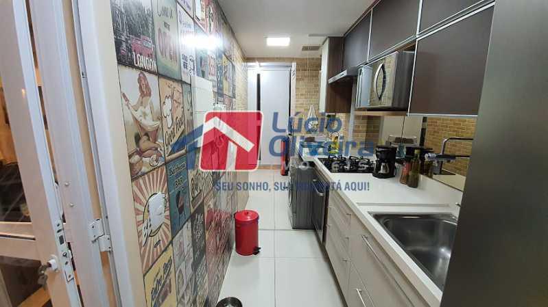 13- Cozinha - Apartamento à venda Estrada do Guanumbi,Freguesia (Jacarepaguá), Rio de Janeiro - R$ 550.000 - VPAP21495 - 14