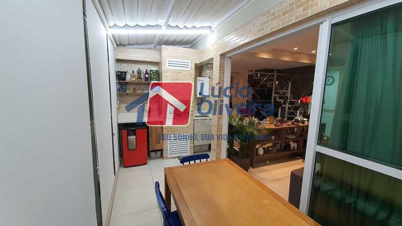 14- Varanda - Apartamento à venda Estrada do Guanumbi,Freguesia (Jacarepaguá), Rio de Janeiro - R$ 550.000 - VPAP21495 - 15