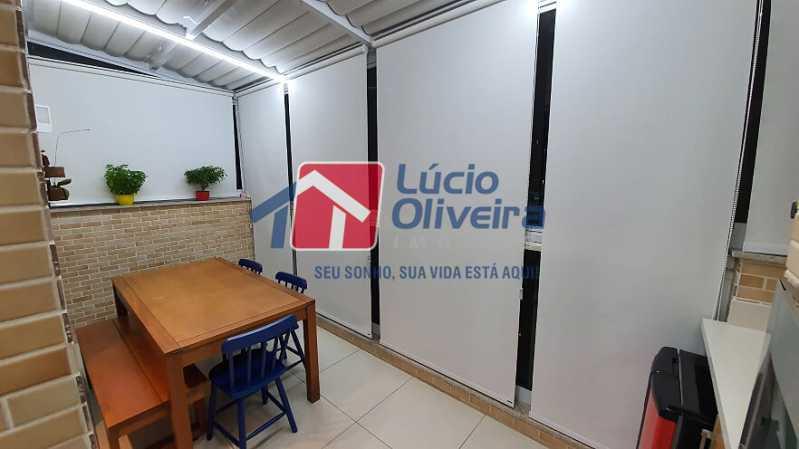 15- Varanda - Apartamento à venda Estrada do Guanumbi,Freguesia (Jacarepaguá), Rio de Janeiro - R$ 550.000 - VPAP21495 - 16