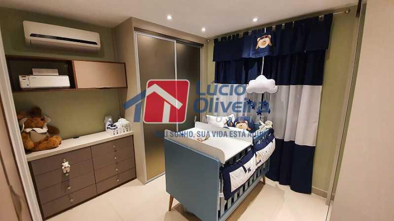 17- Quarto S. - Apartamento à venda Estrada do Guanumbi,Freguesia (Jacarepaguá), Rio de Janeiro - R$ 550.000 - VPAP21495 - 18