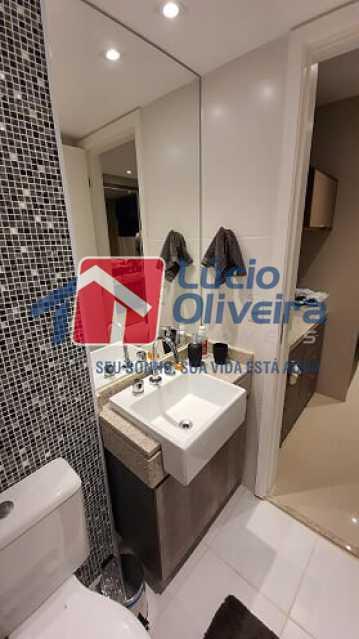 20- Suite - Apartamento à venda Estrada do Guanumbi,Freguesia (Jacarepaguá), Rio de Janeiro - R$ 550.000 - VPAP21495 - 21