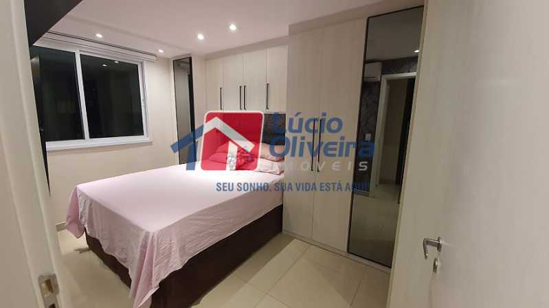 21- Quarto C. - Apartamento à venda Estrada do Guanumbi,Freguesia (Jacarepaguá), Rio de Janeiro - R$ 550.000 - VPAP21495 - 22