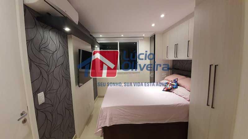 22- Quarto C. - Apartamento à venda Estrada do Guanumbi,Freguesia (Jacarepaguá), Rio de Janeiro - R$ 550.000 - VPAP21495 - 23