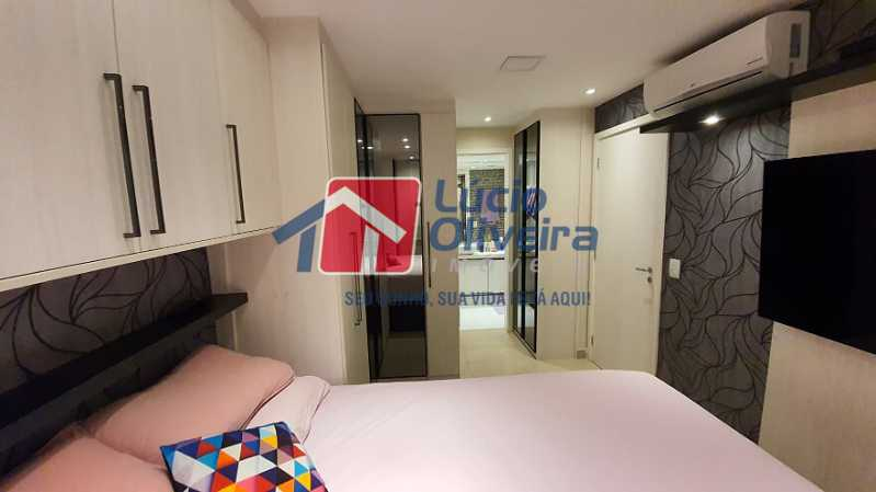 23- Quarto C. - Apartamento à venda Estrada do Guanumbi,Freguesia (Jacarepaguá), Rio de Janeiro - R$ 550.000 - VPAP21495 - 24