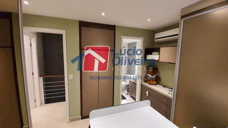 24- Quarto C. - Apartamento à venda Estrada do Guanumbi,Freguesia (Jacarepaguá), Rio de Janeiro - R$ 550.000 - VPAP21495 - 25