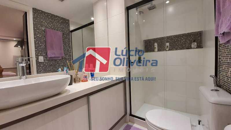 26- Suite - Apartamento à venda Estrada do Guanumbi,Freguesia (Jacarepaguá), Rio de Janeiro - R$ 550.000 - VPAP21495 - 27