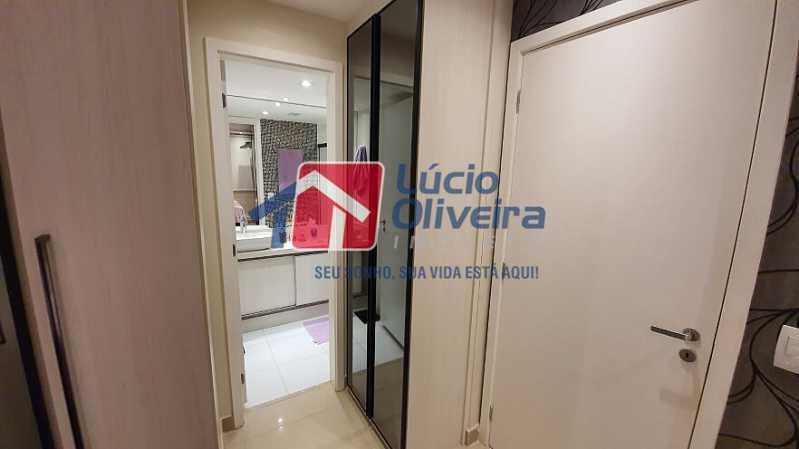 27- Suite - Apartamento à venda Estrada do Guanumbi,Freguesia (Jacarepaguá), Rio de Janeiro - R$ 550.000 - VPAP21495 - 28