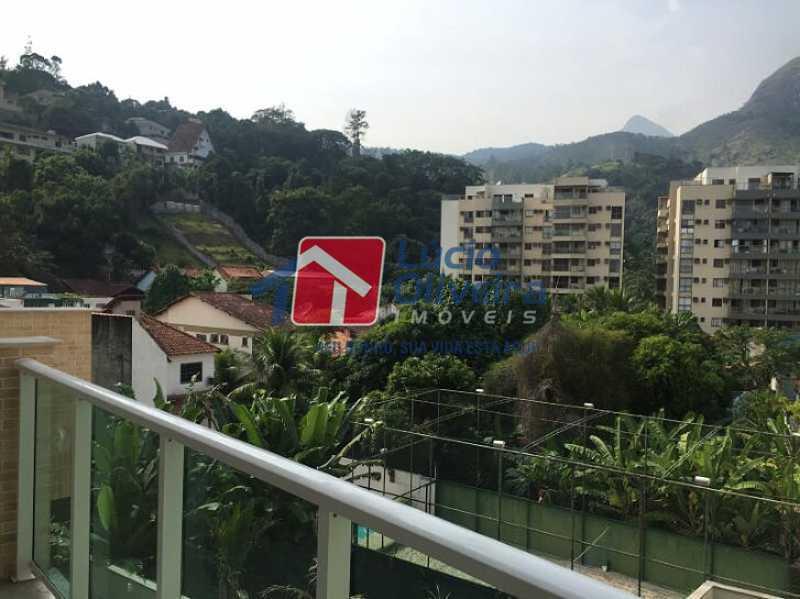 28- Vista Varanda - Apartamento à venda Estrada do Guanumbi,Freguesia (Jacarepaguá), Rio de Janeiro - R$ 550.000 - VPAP21495 - 29
