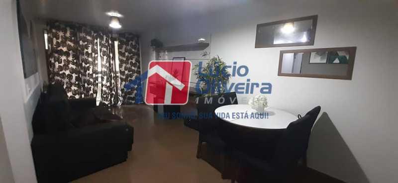 01- Sala - Apartamento à venda Rua Raul da Cunha Ribeiro,Recreio dos Bandeirantes, Rio de Janeiro - R$ 588.000 - VPAP30364 - 1