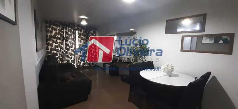 03- Sala - Apartamento à venda Rua Raul da Cunha Ribeiro,Recreio dos Bandeirantes, Rio de Janeiro - R$ 588.000 - VPAP30364 - 4