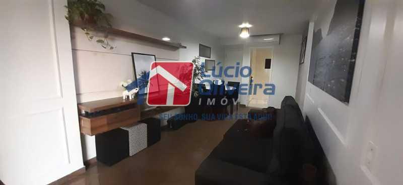 04- Sala - Apartamento à venda Rua Raul da Cunha Ribeiro,Recreio dos Bandeirantes, Rio de Janeiro - R$ 588.000 - VPAP30364 - 5