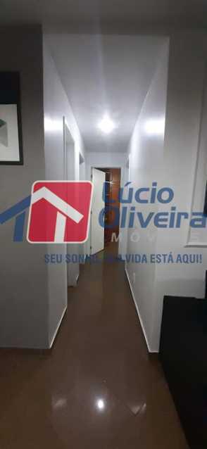 05- Circualação - Apartamento à venda Rua Raul da Cunha Ribeiro,Recreio dos Bandeirantes, Rio de Janeiro - R$ 588.000 - VPAP30364 - 6
