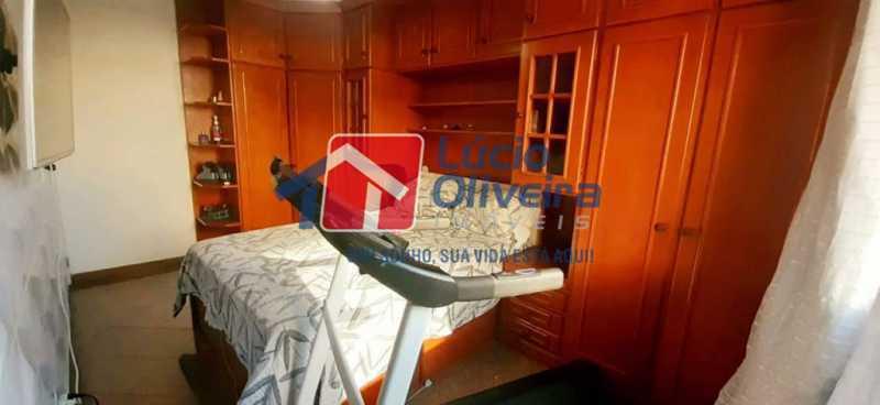 07- Quarto C. - Apartamento à venda Rua Raul da Cunha Ribeiro,Recreio dos Bandeirantes, Rio de Janeiro - R$ 588.000 - VPAP30364 - 8