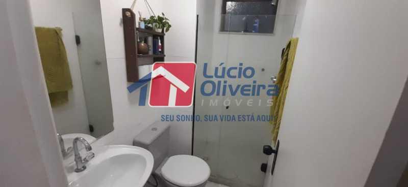 11- Suite - Apartamento à venda Rua Raul da Cunha Ribeiro,Recreio dos Bandeirantes, Rio de Janeiro - R$ 588.000 - VPAP30364 - 12