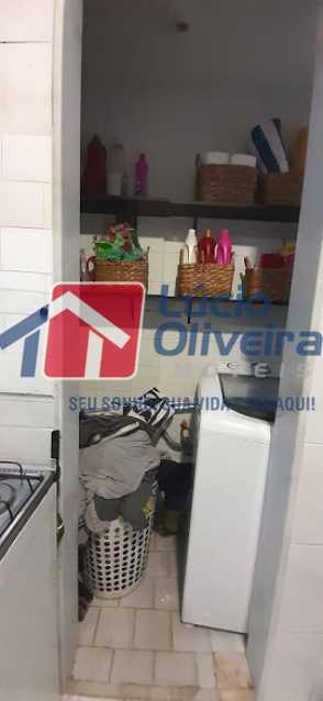 21- Area de Servico - Apartamento à venda Rua Raul da Cunha Ribeiro,Recreio dos Bandeirantes, Rio de Janeiro - R$ 588.000 - VPAP30364 - 21
