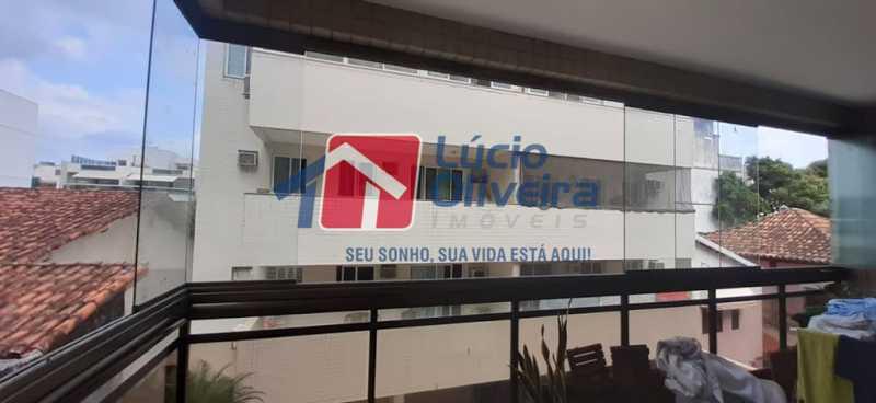 22- Varanda - Apartamento à venda Rua Raul da Cunha Ribeiro,Recreio dos Bandeirantes, Rio de Janeiro - R$ 588.000 - VPAP30364 - 22
