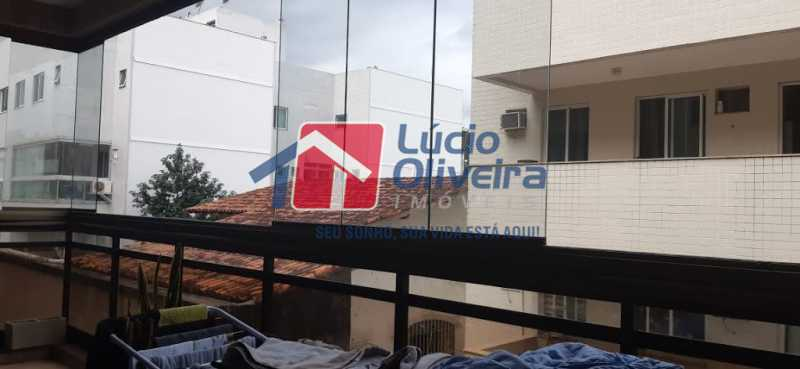 23- Varanda - Apartamento à venda Rua Raul da Cunha Ribeiro,Recreio dos Bandeirantes, Rio de Janeiro - R$ 588.000 - VPAP30364 - 23