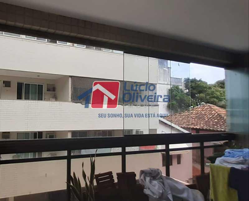 24- Varanda - Apartamento à venda Rua Raul da Cunha Ribeiro,Recreio dos Bandeirantes, Rio de Janeiro - R$ 588.000 - VPAP30364 - 24