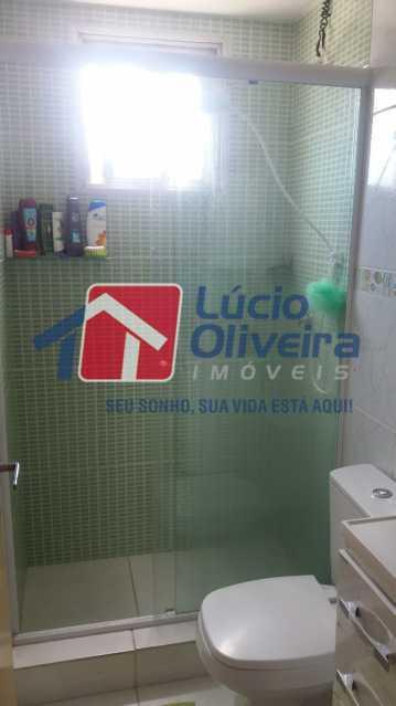 BANHEIRO. - Apartamento à venda Rua Dores do Turvo,Pavuna, Rio de Janeiro - R$ 90.000 - VPAP21496 - 9