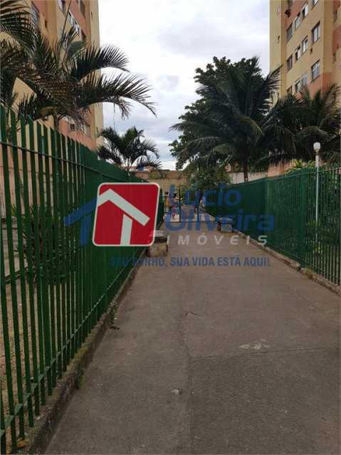 FACHADA - Apartamento à venda Rua Dores do Turvo,Pavuna, Rio de Janeiro - R$ 90.000 - VPAP21496 - 12