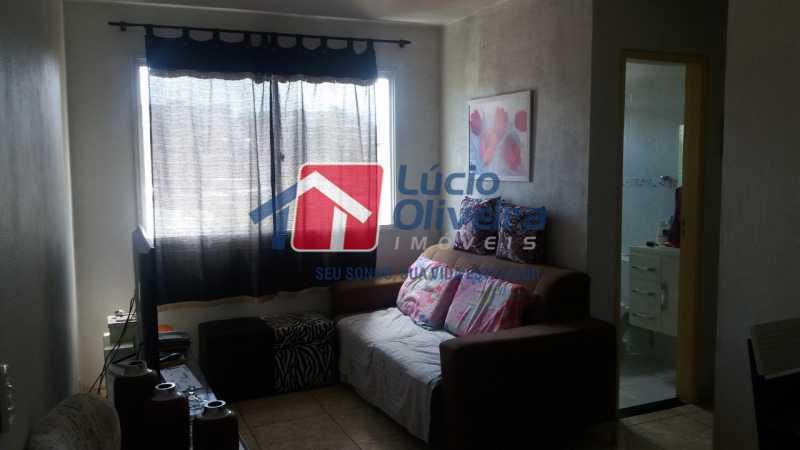 SALA  DE ESTAR. - Apartamento à venda Rua Dores do Turvo,Pavuna, Rio de Janeiro - R$ 90.000 - VPAP21496 - 3
