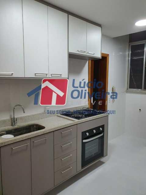 9-Cozinha armarios planejados. - Apartamento 2 quartos à venda São Cristóvão, Rio de Janeiro - R$ 365.000 - VPAP21500 - 11