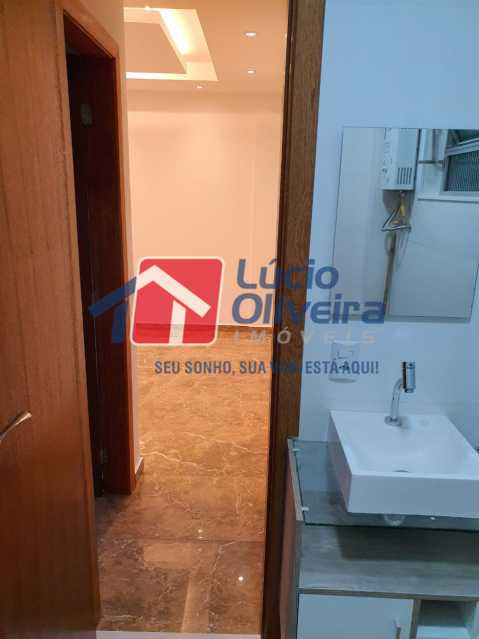 13-Banheiro social. - Apartamento 2 quartos à venda São Cristóvão, Rio de Janeiro - R$ 365.000 - VPAP21500 - 15