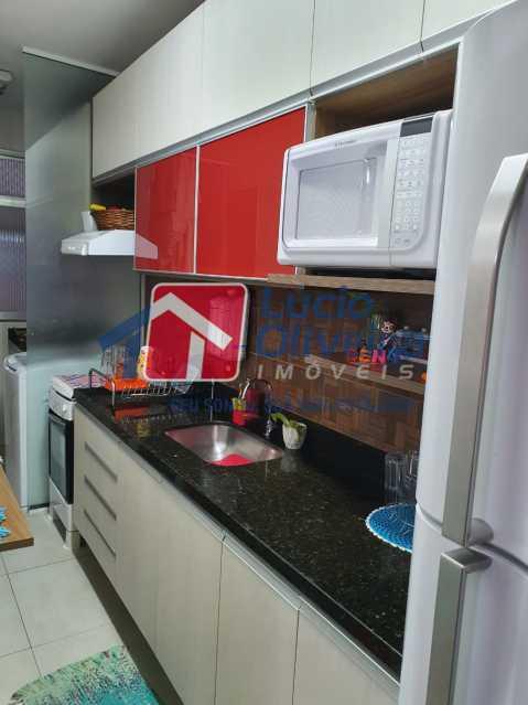 9-Cozinha Armarios Planejados. - Apartamento 3 quartos à venda Engenho Novo, Rio de Janeiro - R$ 260.000 - VPAP30367 - 10