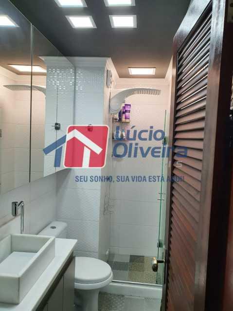 12-Banheiro social blindex. - Apartamento 3 quartos à venda Engenho Novo, Rio de Janeiro - R$ 260.000 - VPAP30367 - 13