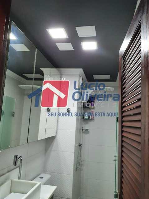 18-Banheiro social. - Apartamento 3 quartos à venda Engenho Novo, Rio de Janeiro - R$ 260.000 - VPAP30367 - 19