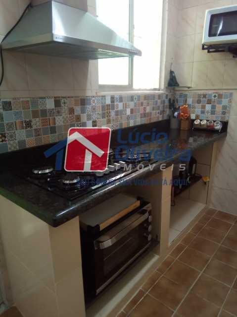8-Cozinha cooktop. - Casa de Vila 2 quartos à venda Riachuelo, Rio de Janeiro - R$ 399.000 - VPCV20059 - 9