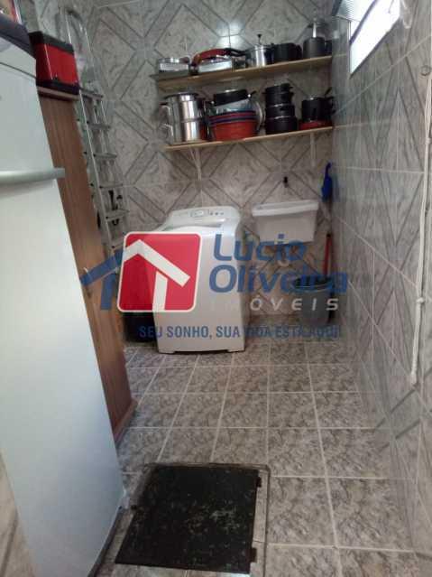 10-Copa area. - Casa de Vila 2 quartos à venda Riachuelo, Rio de Janeiro - R$ 399.000 - VPCV20059 - 11