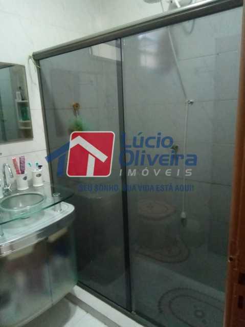 11-Banheiro social blindex. - Casa de Vila 2 quartos à venda Riachuelo, Rio de Janeiro - R$ 399.000 - VPCV20059 - 12
