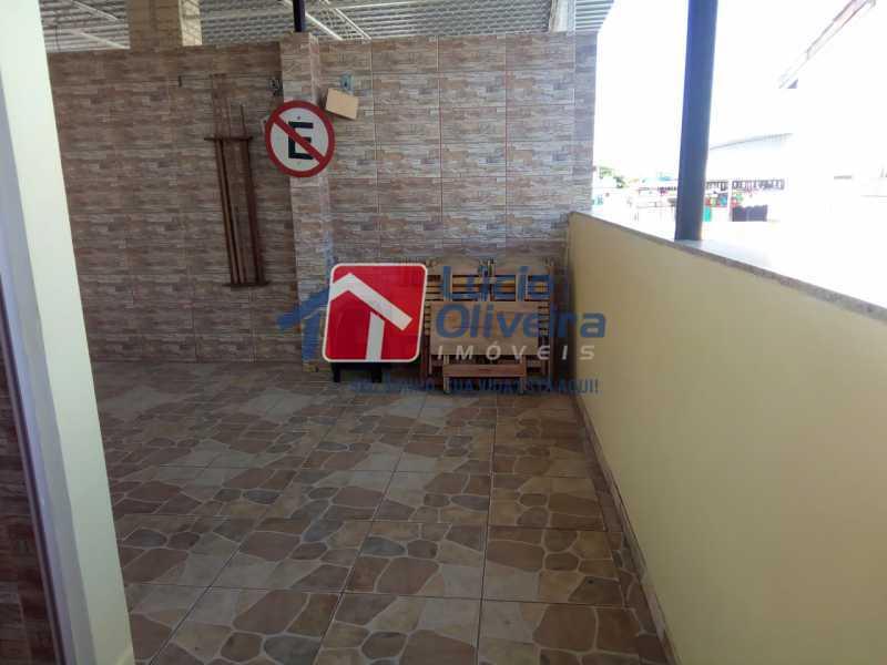 14-Terraço.... - Casa de Vila 2 quartos à venda Riachuelo, Rio de Janeiro - R$ 399.000 - VPCV20059 - 16