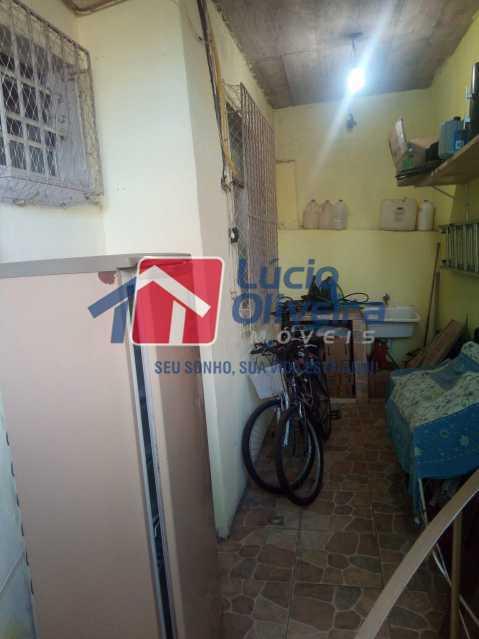 17-Area  serviço e lavanderia - Casa de Vila 2 quartos à venda Riachuelo, Rio de Janeiro - R$ 399.000 - VPCV20059 - 19