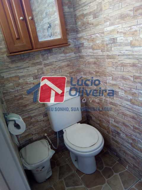 19-Banheiro serviço.... - Casa de Vila 2 quartos à venda Riachuelo, Rio de Janeiro - R$ 399.000 - VPCV20059 - 21