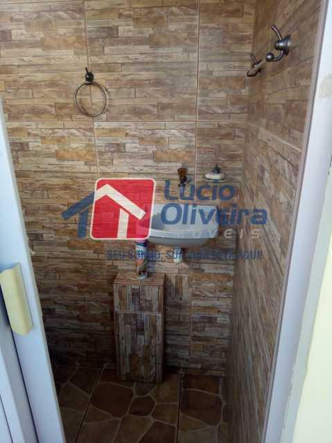 20-Banheiro Serviço. - Casa de Vila 2 quartos à venda Riachuelo, Rio de Janeiro - R$ 399.000 - VPCV20059 - 22