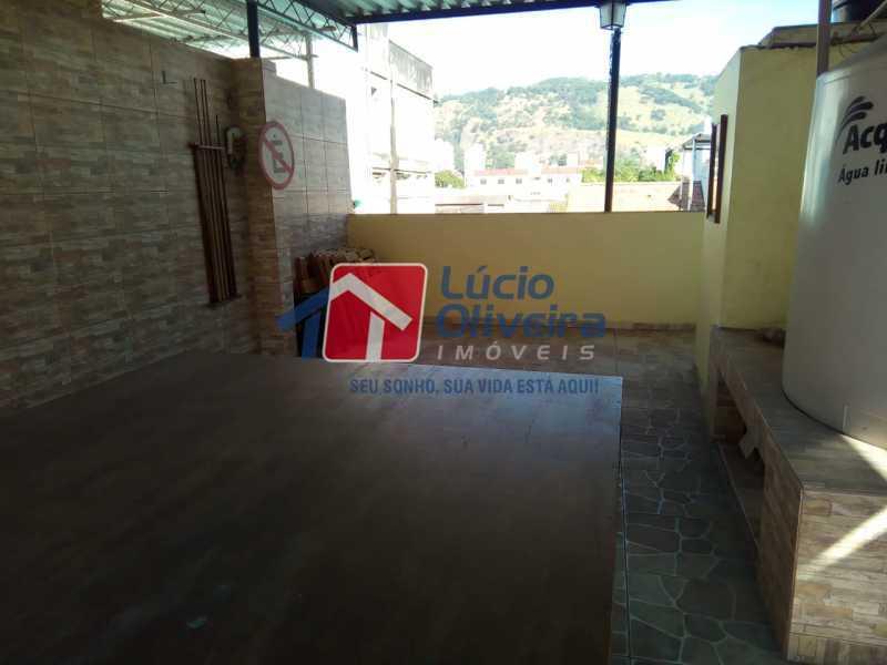 21-Terraço. - Casa de Vila 2 quartos à venda Riachuelo, Rio de Janeiro - R$ 399.000 - VPCV20059 - 23