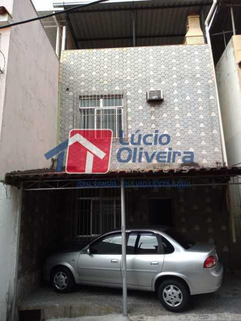 22-Frente Casa. - Casa de Vila 2 quartos à venda Riachuelo, Rio de Janeiro - R$ 399.000 - VPCV20059 - 24
