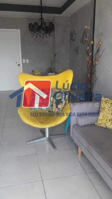 1-,Sala 2 ambientes. - Apartamento à venda Rua Bernardo Taveira,Vila da Penha, Rio de Janeiro - R$ 430.000 - VPAP21502 - 3