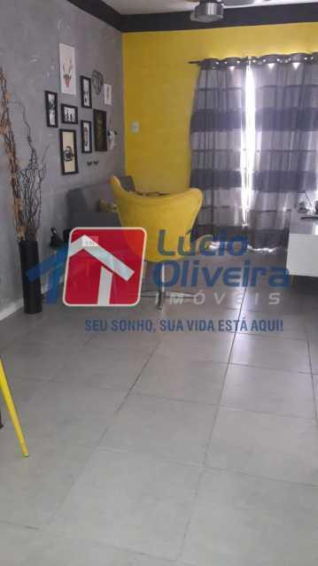 2-Sala 2 ambientes. - Apartamento à venda Rua Bernardo Taveira,Vila da Penha, Rio de Janeiro - R$ 430.000 - VPAP21502 - 4