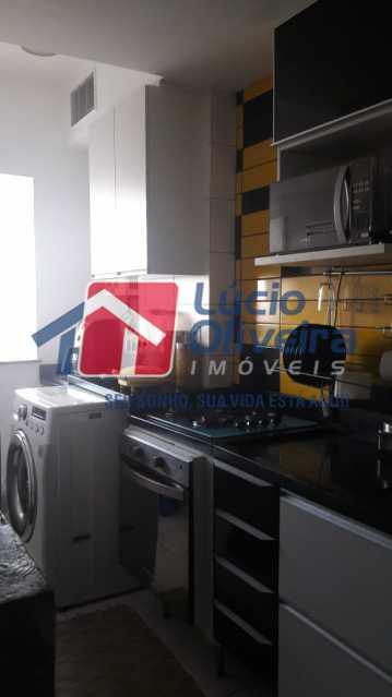 11-Cozinha e area serviço. - Apartamento à venda Rua Bernardo Taveira,Vila da Penha, Rio de Janeiro - R$ 430.000 - VPAP21502 - 13