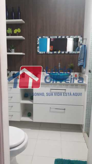 13-Banheiro social.... - Apartamento à venda Rua Bernardo Taveira,Vila da Penha, Rio de Janeiro - R$ 430.000 - VPAP21502 - 15