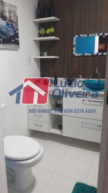 14-Banheiro social. - Apartamento à venda Rua Bernardo Taveira,Vila da Penha, Rio de Janeiro - R$ 430.000 - VPAP21502 - 16