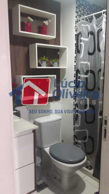 15-Banheiro suite2. - Apartamento à venda Rua Bernardo Taveira,Vila da Penha, Rio de Janeiro - R$ 430.000 - VPAP21502 - 17